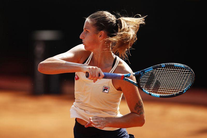 Karolina Pliskova is the top seed at the Strasbourg tournament this year