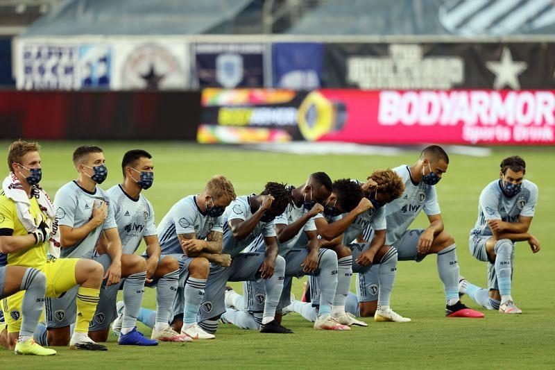 Sporting Kansas City host FC Dallas in the MLS