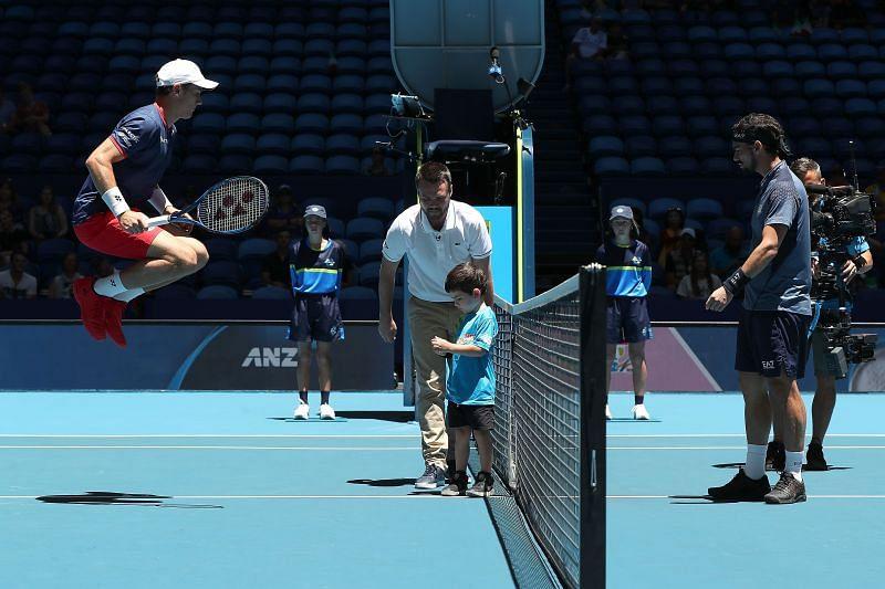 Casper Ruud beat Fabio Fognini at the ATP Cup