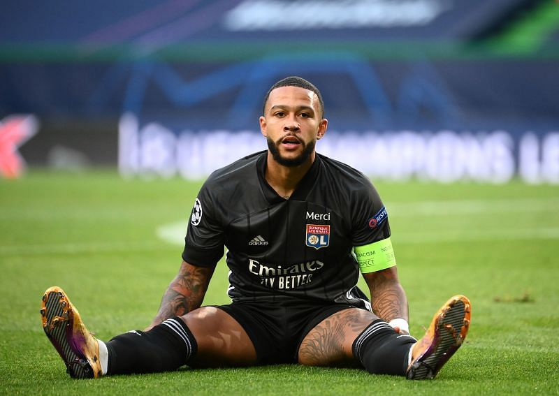 Memphis Depay could be playing his last game for Lyon