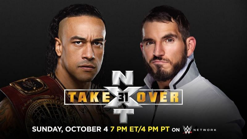 NXT TakeOver: 31 Match Card