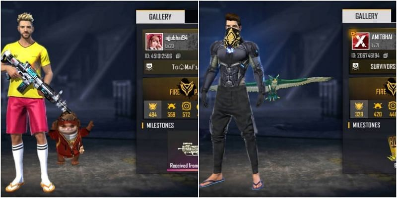 Ajjubhai vs Amitbhai: Who has better stats in Garena Free Fire?