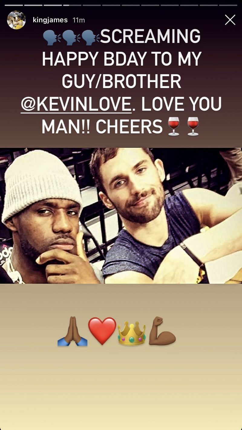 Kevin Love and LeBron James were a part of the 2015-16 Cleveland Cavaliers