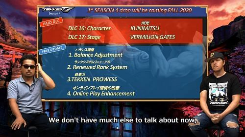 tekken 7 new characters season 4