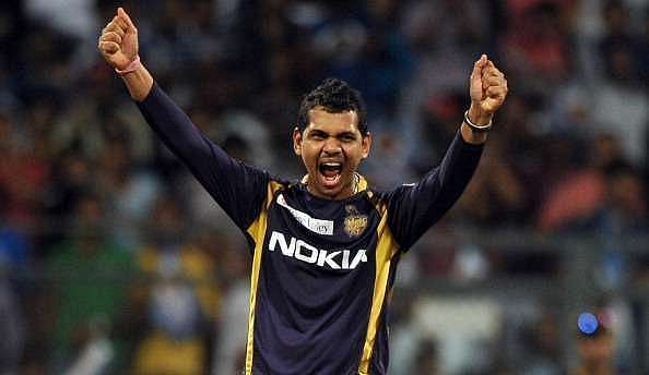 Sunil Narine has been hiding the ball behind his back in his run-up during the CPL