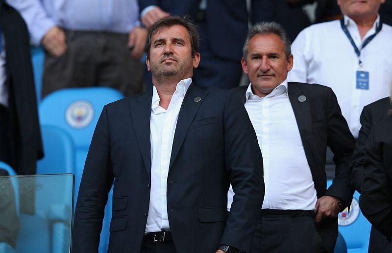 Txiki Begiristain (right), Manchester City