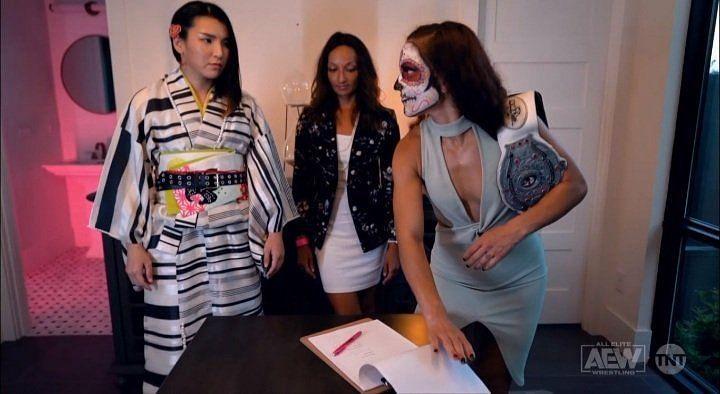 Thunder Rosa vs. Hikaru Shida is set for AEW All Out