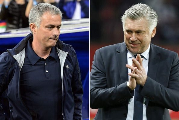 Jose Mourinho and Carlo Ancelotti have done battle several times in the past