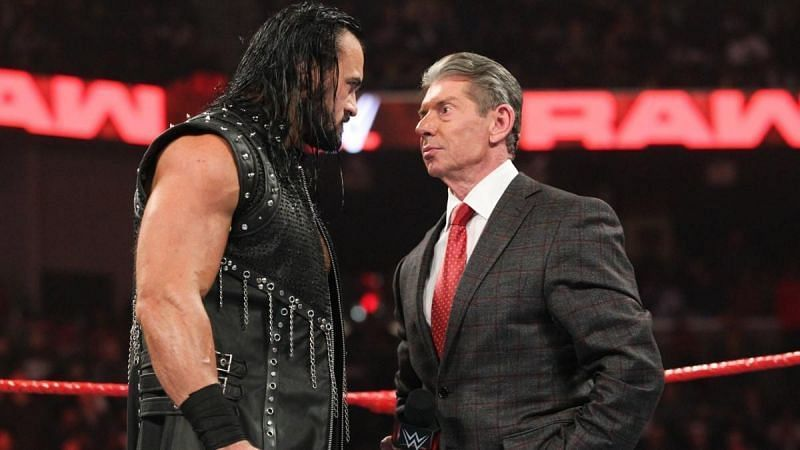 Drew McIntyre and Vince McMahon
