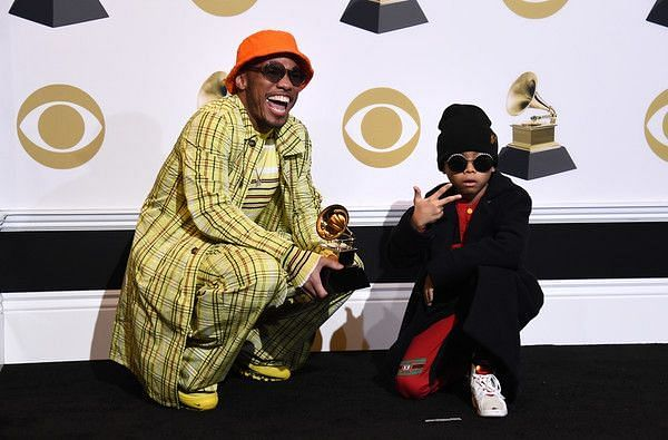 Anderson Park at the 61st Grammy Awards (Image Credits: zimbio.com)