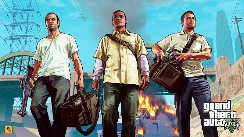 GTA 5 highly compressed setup for PC is illegal (Image Credits: wallpaperaccess.com)