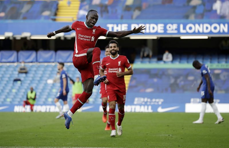 Sadio Mane scored twice for Liverpool against Chelsea last weekend