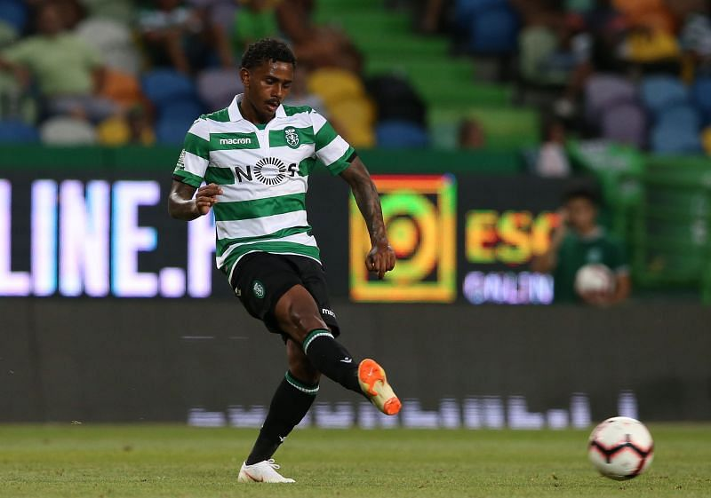 23-year-old Wendel in action for Sporting