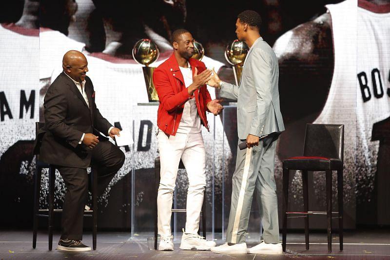 Miami Heat Dwyane Wade L3GACY Celebration