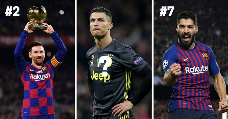 Cristiano Ronaldo, Lionel Messi, and Luis Suarez have shown amazing consistency in the last few seasons