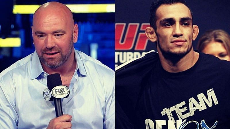 Dana White and Tony Ferguson