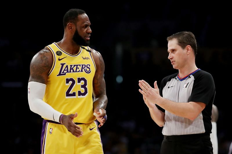 LeBron James is a player who always demands a proper explanation to any call made by the referee