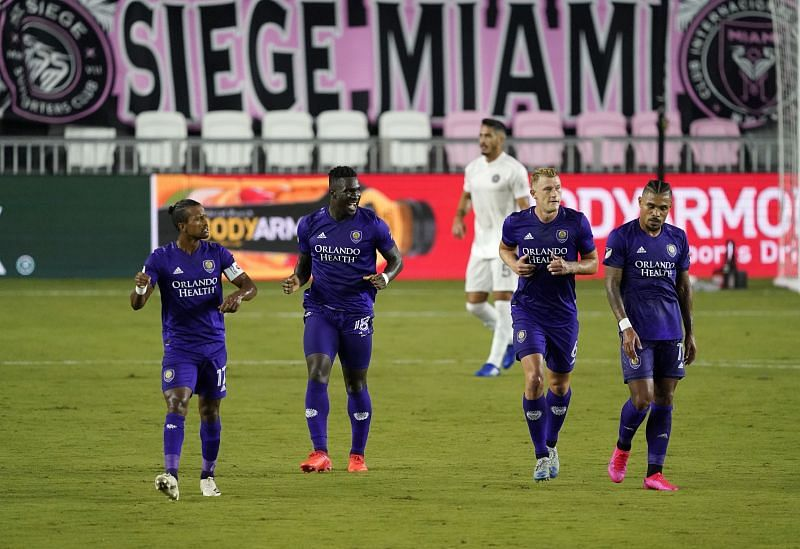 Orlando City SC are currently third in the MLS Eastern Conference