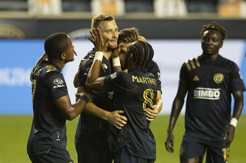 Philadelphia Union are without some of their starters