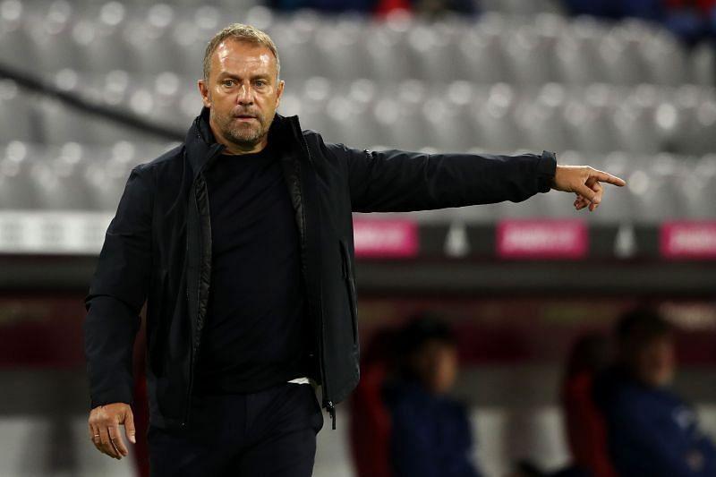 FC Bayern Muenchen coach Hansi Flick