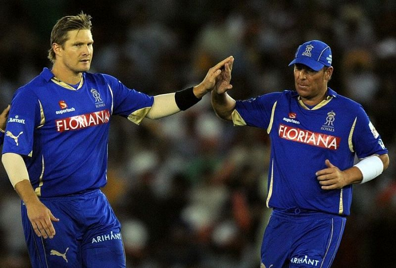 Shane Watson and Shane Warne won the 2008 IPL title with RR