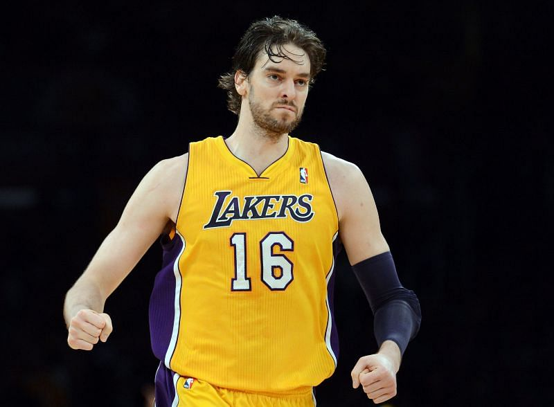 Pau Gasol won two NBA titles with the LA Lakers