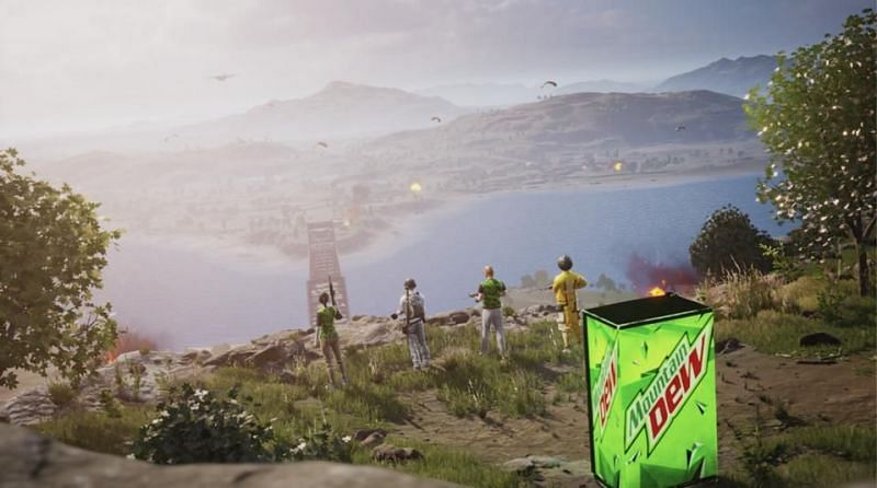 PUBG Mobile and Mountain Dew are teaming up (Image Credits: forbes)