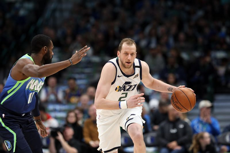 Joe Ingles has been a key player for the Utah Jazz.