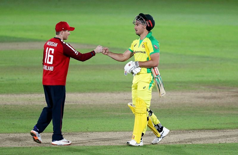 Marcus Stoinis could not guide Australia to a win in the first T20I