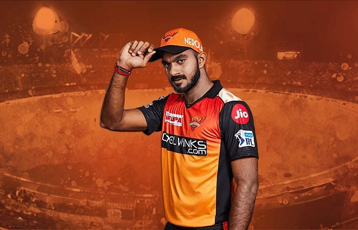 Vijay Shankar has a crucial role for SRH in this year
