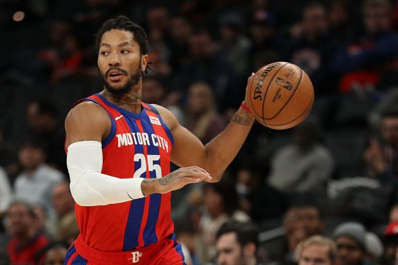 Detroit Pistons will have a lot of offers for Rose