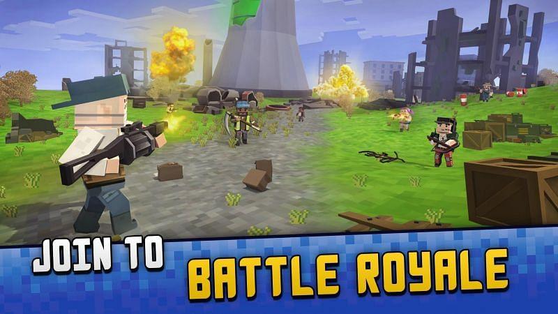 Pixel Gun Mobile Shooter: BATTLE ROYALE Simulator. Image Credits: APKPure.com.