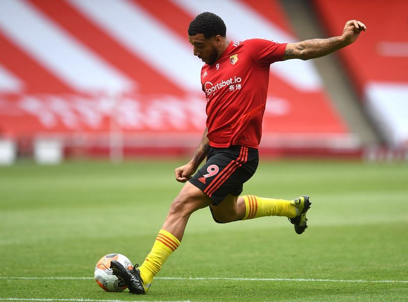 Troy Deeney could play for Watford for the first time since relegation from the Premier League