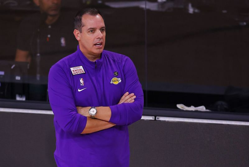 NBA News Update:Frank Vogel was happy with the way his team hung on in Game 4