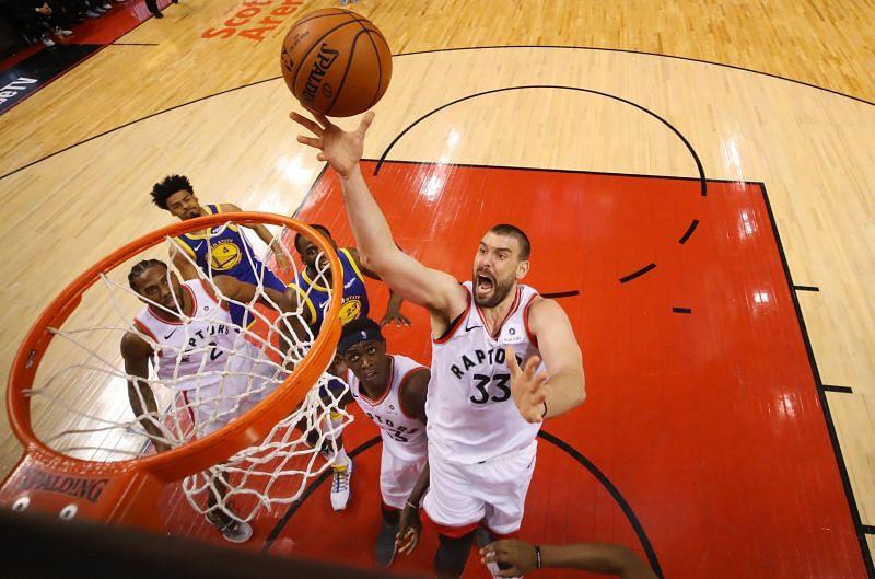 Raptors traded Valanciunas for Gasol.