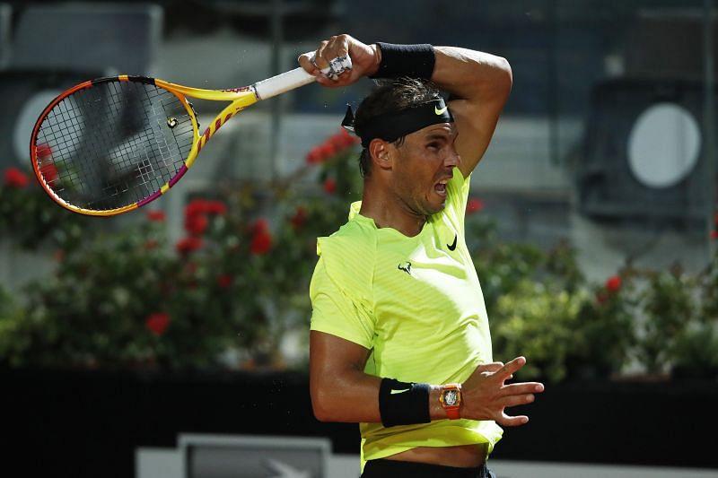 Rafael Nadal at the Internazionali BNL D