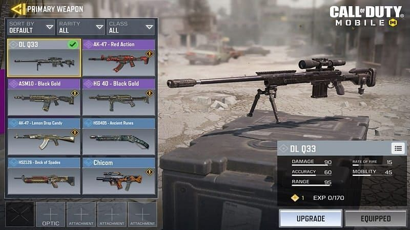 Weapons in COD Mobile (Image credits: PCQuest)