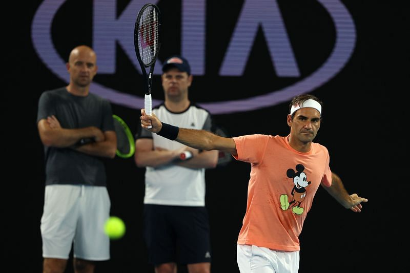 Roger Federer is an idol for J.J. Wolf.