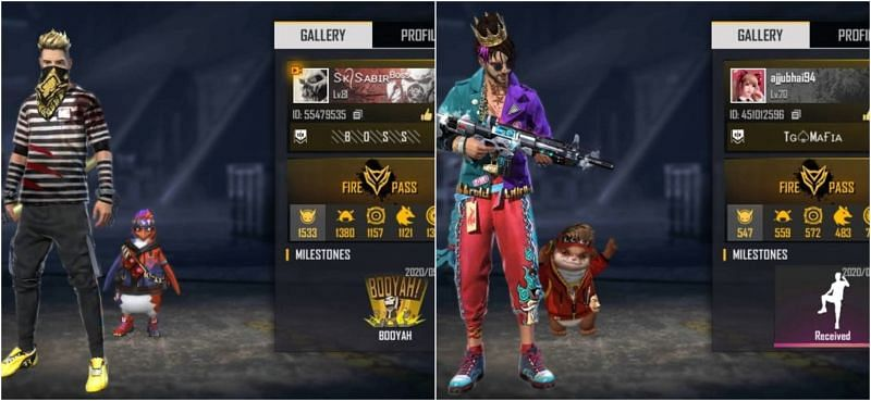 SK Sabir Boss vs Total Gaming : Who has better stats in Free Fire?