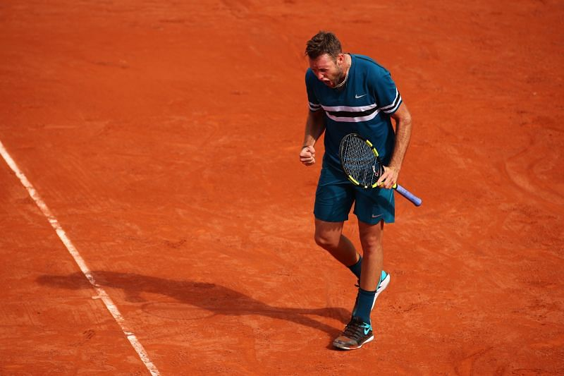 Jack Sock has had some good results on the Parisian clay