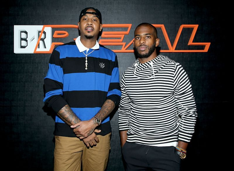 Melo and CP3