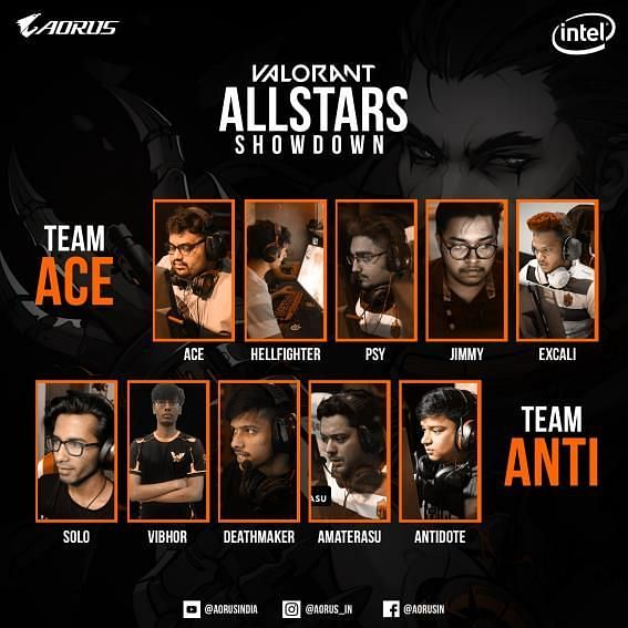 AORUS Gaming has announced the Valorant Allstar event in partnership with Intel (Image credits: AORUS Gaming)
