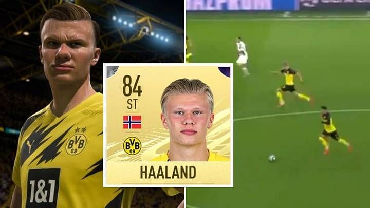 The superstar in waiting, Erling Haaland (Image Credits: SPORTbible)