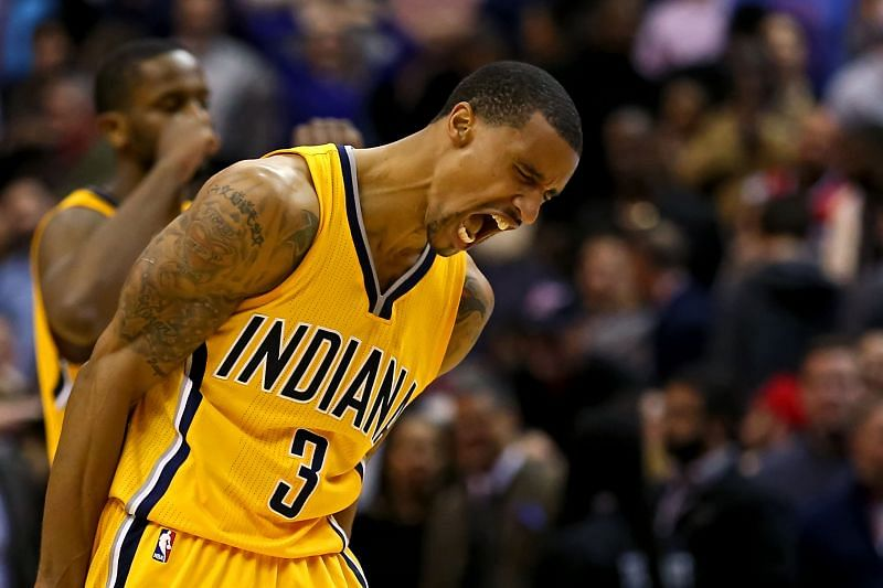 Veteran sharpshooter George Hill could head to OKC.