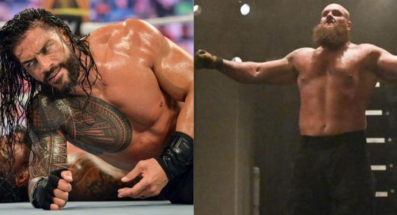 Roman Reigns and Braun Strowman