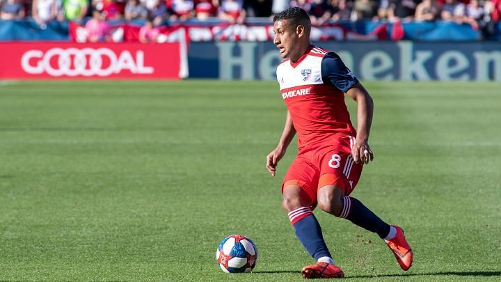 Bryan Acosta is not available for this game. Image Source: FC Dallas