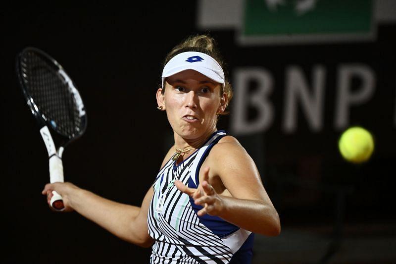 Elise Mertens at the Internazionali BNL D