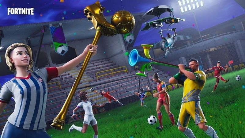Soccer skins are the sweatist cosmetics in Fortnite (Image credit: Epic Games)