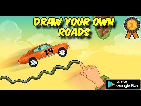 Road Draw: Climb Your Own Hills. Image Credits: Google Play.