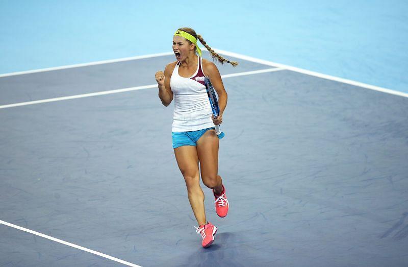 Yulia Putintseva looks for her career-best result at the US Open